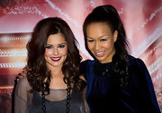 Cheryl Cole rocked radiant bouncy curls at the 'X Factor' press conference.