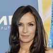 Famke Janssen's Layered Waves