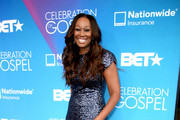 Yolanda Adams Beaded Dress