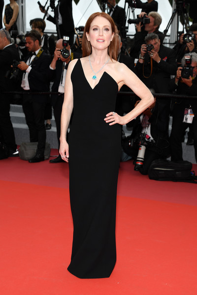 Julianne Moore In Saint Laurent
