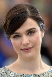 Rachel Weisz pulled her hair back into a side-parted French twist for the 'Youth' photocall in Cannes.