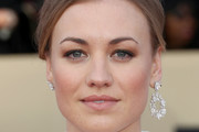 Yvonne Strahovski Diamond Hoops