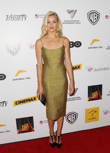 Yvonne Strahovski Cocktail Dress