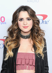 Laura Marano rocked flowing ombre waves during Z100's Jingle Ball 2016.