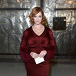 Christina Hendricks at Zac Posen