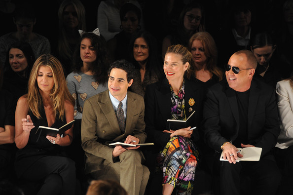 Project Runway - Front Row - Fall 2013 Mercedes-Benz Fashion Week