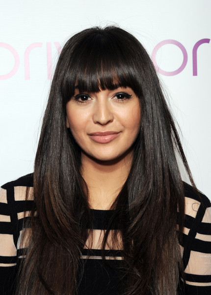 Zara Martin Long Straight Cut with Bangs