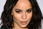 Zoe Kravitz Medium Wavy Cut