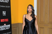 Zoe Saldana Little Black Dress