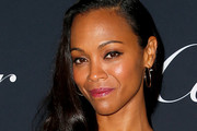 Zoe Saldana Side Sweep