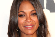 Zoe Saldana Smoky Eyes