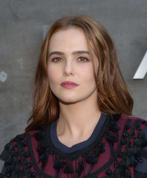 Zoey Deutch Berry Lipstick [marc by marc jacobs fall,zoey deutch,winter 2014 preview,hair,face,lip,hairstyle,blond,eyebrow,beauty,fashion,chin,cheek,los angeles,california]