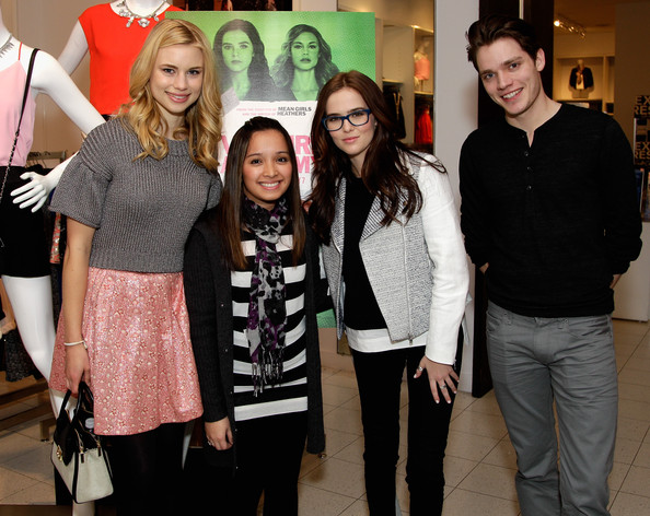 Zoey Deutch Motorcycle Jacket [vampire academy,social group,event,fashion,youth,fun,party,performance,style,fashion design,fans,actors,karla vargas,zoey deutch,dominic sherwood,cast,shopping spree,houston,l]