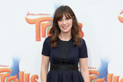 Zooey Deschanel Baby Doll Dress
