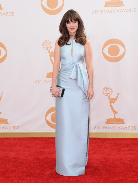 Zooey Deschanel Evening Dress