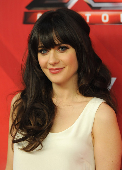 Zooey Deschanel False Eyelashes