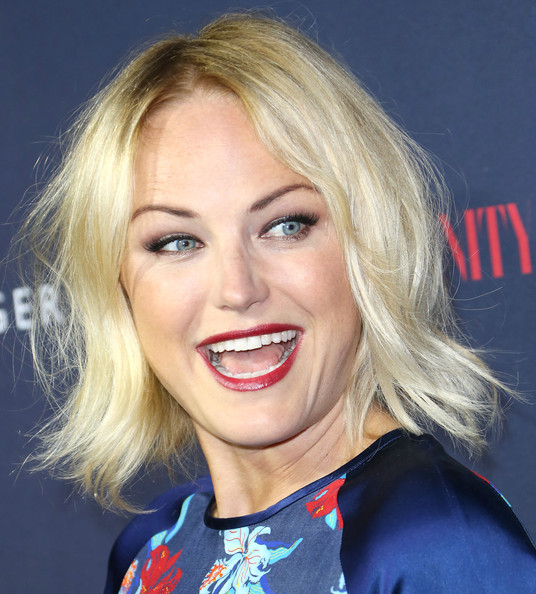 More Pics of Malin Akerman Layered Razor Cut (1 of 6) - Layered Razor Cut Lookbook - StyleBistro