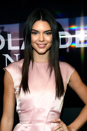 Kendall Jenner attended the 'Zoolander No. 2' world premiere wearing this sleek layered hairstyle.