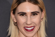 Zosia Mamet Medium Straight Cut