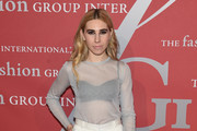 Zosia Mamet Sheer Top