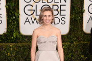 Zosia Mamet Strapless Dress