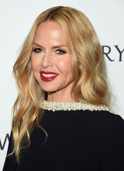 Rachel Zoe attended the amfAR Inspiration Gala wearing her hair in hippie-glam waves.