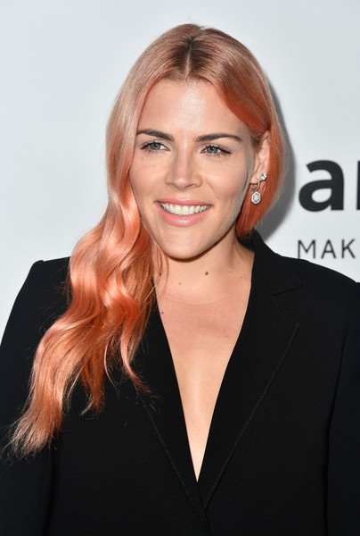 Busy Philipps' Coral Locks