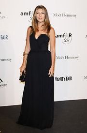 Nina Garcia's black one-shoulder gown at the 2011 amfAR Milano was a perfect mix of sophisticated and sexy.