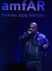 Cee-Lo Green grabbed out attention yet again with this snakeskin leather jacket.