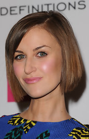 Katherine Kelly attended the Very.co.uk launch party wearing her hair in a neat bob.