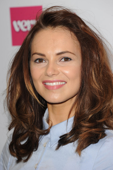 More Pics of Kara Tointon Half Up Half Down (1 of 4) - Half Up Half Down Lookbook - StyleBistro