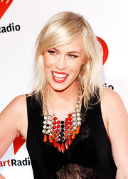 Natasha Bedingfield selected this colorful statement necklace to wear to the iHeartRadio Music Festival.