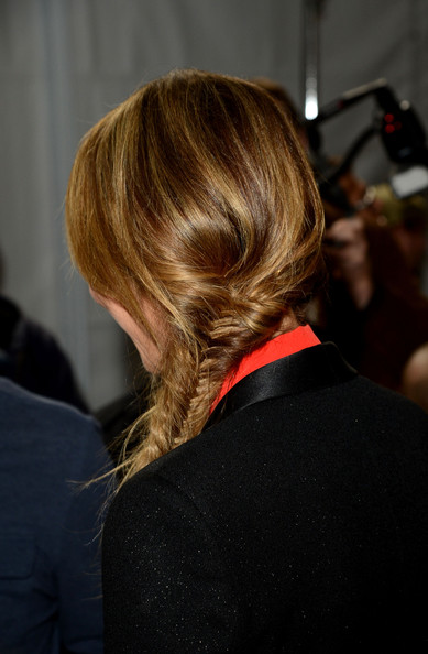 More Pics of Stacy Keibler Long Braided Hairstyle (1 of 15) - Long Braided Hairstyle Lookbook - StyleBistro