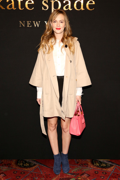 Leighton Meester at Kate Spade New York