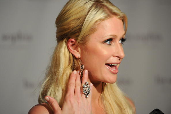 More Pics of Paris Hilton Cocktail Ring  (1 of 14) - Paris Hilton Lookbook - StyleBistro