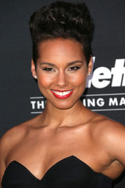 Alicia Keys rocked a towering fauxhawk at the unite4:humanity event.