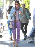 Who wore the cutest cozy pants?