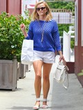 Who wore the cutest summer shorts outfit?