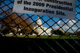 Construction Continues For President-Elect Barack Obama's Inauguration