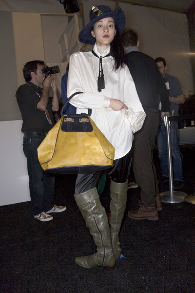3.1 Phillip Lim Fall 2008 - Backstage