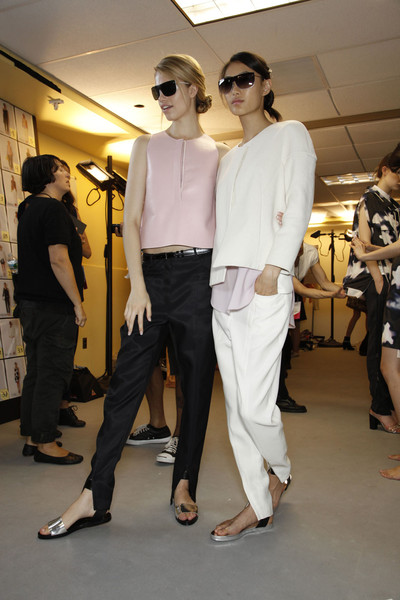 3.1 Phillip Lim Spring 2012 - Backstage