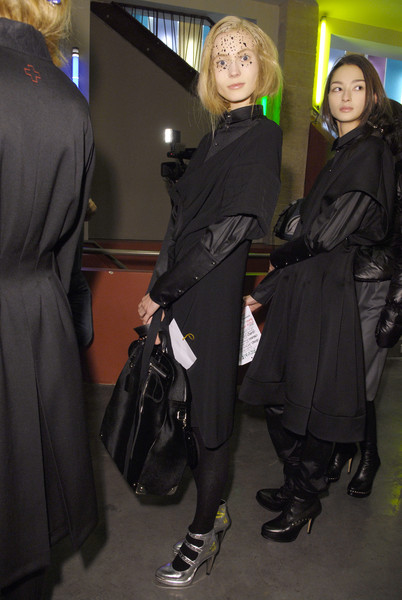A.F. Vandevorst Fall 2008 - Backstage