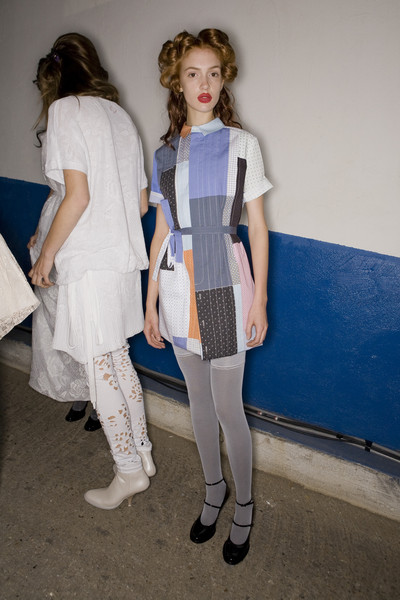 A.F. Vandevorst at Paris Spring 2009 (Backstage)