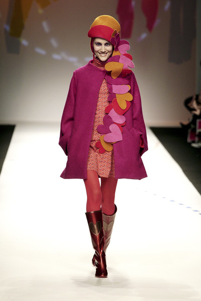 Agatha Ruiz de la Prada at Milan Fall 2008