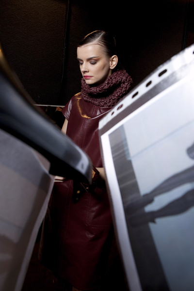 Aigner at Milan Fall 2010 (Backstage)