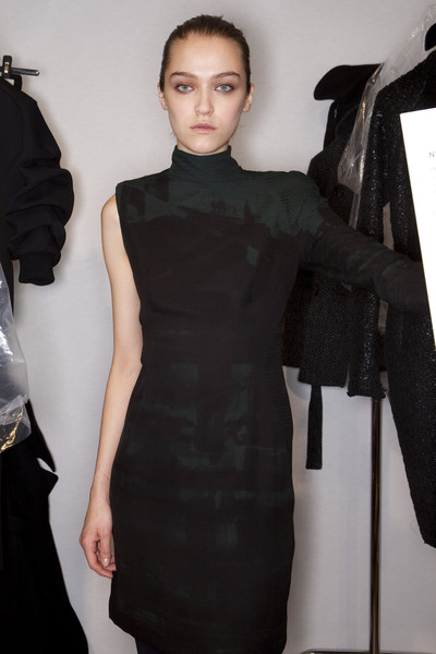 Akris Fall 2009 - Backstage