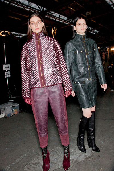 Alexander Wang Fall 2012 - Backstage
