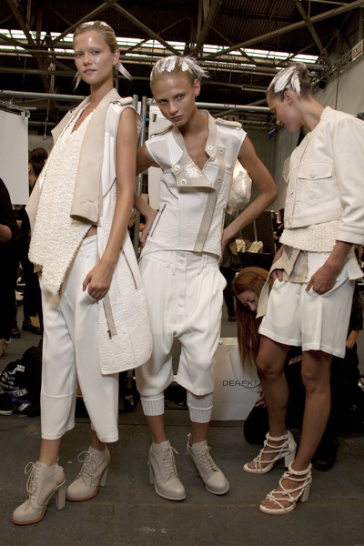 Alexander Wang at New York Spring 2011 (Backstage)