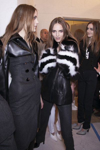 Altuzarra Fall 2013 - Backstage
