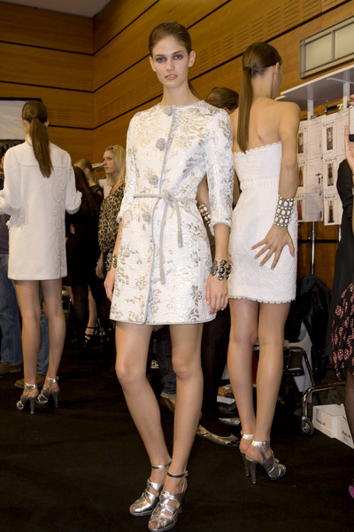 Andrew Gn at Paris Spring 2009 (Backstage)